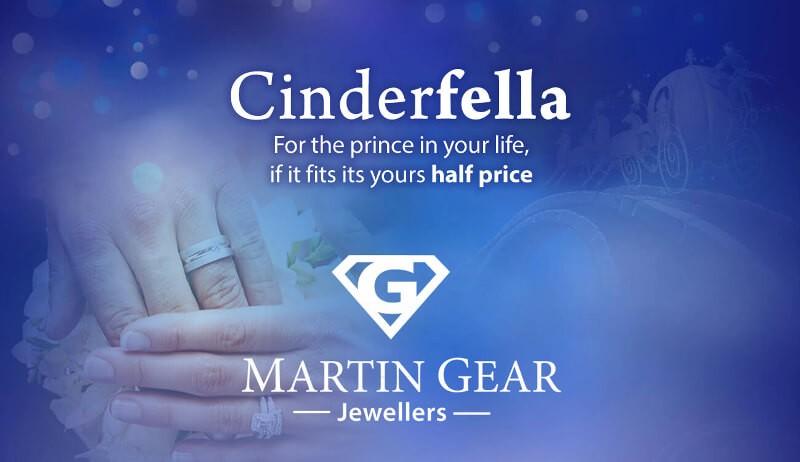 martin gear cinderfella's promotional banner