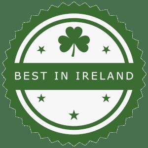 best in ireland award badge
